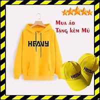 Áo Khoác Hoodie Free Fire TEAM HEAVY [ Tặng 1 Nón Heavy ] Chất Nỉ Màu Vàng Cực Đẹp Kiểu Dáng Hàn Quốc Trẻ Trung Dễ Phối Đồ Phù Hợp Cho Cả Nam Và Nữ