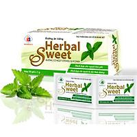 Đường Ăn Kiêng HERBAL SWEET Hộp 50 gói - Đường cỏ ngọt dành cho người tiểu đường