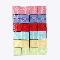 Bộ 24 hộp quà nhỏ có nơ - Nhiều Màu