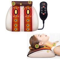Máy (đệm) massage lưng cổ vai gáy đa năng YIJIA YJ-M3 - Rung, nóng và túi khí nâng giãn cột sống lưng và cổ