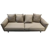 Sofa Vải 3 Chỗ Juno Payton 210 x 92 x 80 cm (Xám)