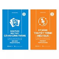 Combo 2 cuốn: Kỹ Năng Thuyết Trình Hiệu Quả, Đàm Phán Bậc Thầy Cả Hai Cùng Thắng