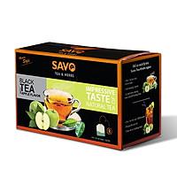 Trà SAVO Táo (Apple Tea) - Hộp 25 Gói x 2g