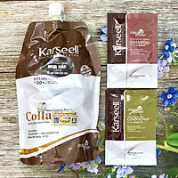 Kem ủ tóc Collagen Karseell Maca 500ml + Cặp gội xả gói 15mlx2