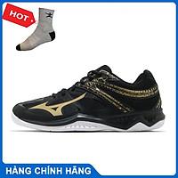 Giày cầu lông THUNDER BLADE 2 Mizuno V1GA197052 chính hãng dành cho nam, mẫu mới, đế kếp, chống lật cổ chân - Tặng tất thể thao Bendu