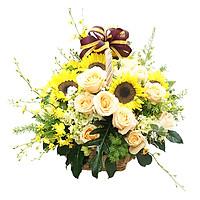 Giỏ Hoa May Mắn B45035
