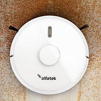 Robot hút bụi, lau nhà Alfatek Mario - Hàng chính hãng