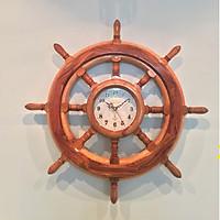 Đồng hồ bánh lái gỗ cẩm