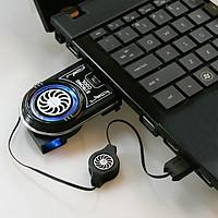 Quạt Tản Nhiệt Bên Hông Cho Laptop Cao Cấp AZONE