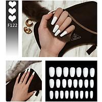 Bộ 24 móng tay giả nail thời trang như hình (F122)