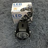Đèn dành cho phượt thủ - Đèn bi cầu LED U7 có 3 chế độ sáng gắn cho xe máy TA88