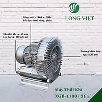 Máy Thổi Khí Con Sò Long Việt XGB-1100W- 3PHA-380V