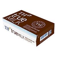 Thùng 48 Hộp Sữa Tươi Tiệt Trùng Sô Cô La TH True Milk (110ml/Hộp)