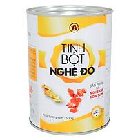 Tinh bột nghệ ĐỎ An Bình (một lon 500gr) - Hỗ trợ các vấn đề làm đẹp, sức khỏe