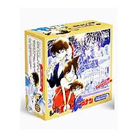 Hộp quà conan có bình nước có bookmark postcard huy hiệu ảnh dán ảnh thẻ poster giftbox anime tặng ảnh thiết kế vcone