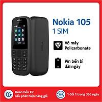 Điện thoại Nokia 105 Singel sim - Hàng chính hãng