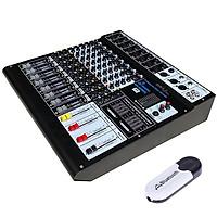 Bàn trộng nhạc hay còn gọi là Mixer karaoke gia đình và sân khấu MX  - 806EQ  BellPlus (hàng chính hãng)