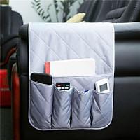 Hot Sale Sofa Hanging Bag Waterproof Nylon Armrest Storage for Cellphone / Tablets / Magazines