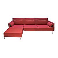 Sofa Vải Chữ L Góc Phải Juno Brett 290 x 160 x 89 cm (Đỏ)