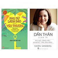 Combo người phụ nữ tuyệt vời : Phụ nữ lãnh đạo bằng yêu thương + Dấn thân - phụ nữ ,công việc,và quyết tâm lãnh đạo- Tặng kèm bookmark Happy Life