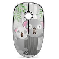 Chuột Không Dây Forter V8 Slient Mouse (Không tiếng ồn) Màu Xám - Hàng Chính Hãng