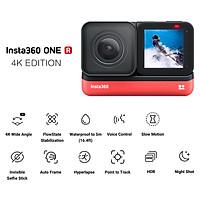 Máy quay thể thao Insta360 ONE R 4K chống rung lắc với góc quay rộng nét 4K hỗ trợ định hóa 5M