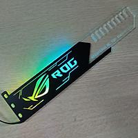 Đỡ VGA Led Logo ROG đồng bộ màu với bộ điều khiển Coolmoon Controller - Hàng nhập khẩu