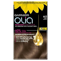Thuốc nhuộm tóc Garnier Olia Permanent Hair Color - 6.0 Light Brown