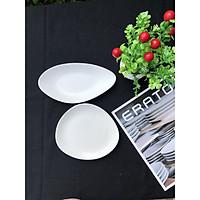 Set 2 đĩa thiết kế Hàn Quốc - Pebble - Erato - Hàng nhập khẩu Hàn Quốc