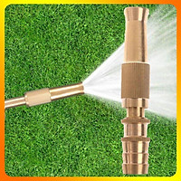 Đầu vòi xịt tăng áp mini phun nước rửa xe, tưới cây tăng áp đa năng- Tặng Đai Siết