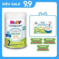 Sữa bột công thức HiPP 2 Organic Combiotic 800g