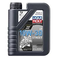 Nhớt Xe Máy Số Liqui Moly Motorbike Street 4T 10W30 2526 (1L)