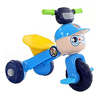 Xe đạp ba bánh trẻ em gấp gọn (có nhạc có đèn)