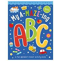 Sticker Activity Books Amazing ABC