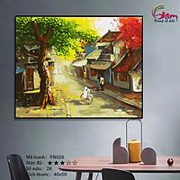 Tranh sơn dầu số hoá tự tô màu Gam VN026 40x50cm căng sẵn khung