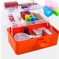 Hộp đựng thuốc, dụng cụ y tế cho gia đình (3 tầng tiện dụng) - GS0079