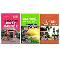 Combo Tủ sách lịch sử - Các triều đại Việt Nam (Bộ 3 cuốn)