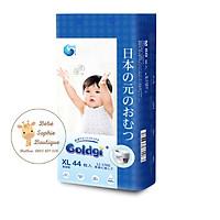 Combo 2 túi Bỉm quần GOLDGI+ Size XL 44 miếng (cho trẻ từ 12-17kg)