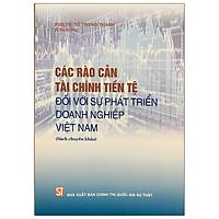 Các Rào Cản Tài Chính Tiền Tệ Đối Với Sự Phát Triển Doanh Nghiệp Việt Nam