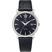 Đồng hồ nam dây da Olym Pianus OP130-07MS-GL đen