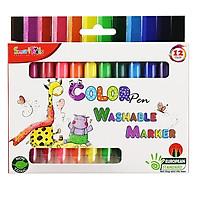 Bút Lông Màu Rửa Được SK-CPT2002 (12 màu/hộp)
