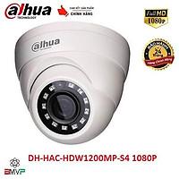 Camera Dahua 2 Mp DH-HAC-HDW1200MP-S4 1080P - Dome Bán Cầu Trong Nhà - Hàng chính hãng