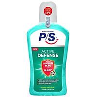 Nước súc miệng P/S Active Defense 500ml
