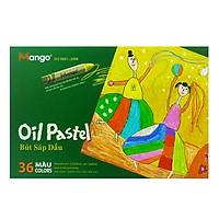 Bút Sáp Dầu Lục Giác Mango Colors 36 Màu - BSD36ML-1