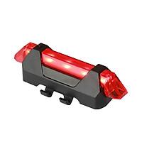 Đèn 5 Led cảnh báo sau xe đạp sạc USB Jett Amp