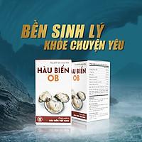 [COMBO 2 HỘP] Thực phẩm bảo vệ sức khỏe Hàu Biển OB - tăng cường sinh lực, bền sinh lý - 2 hộp x 30 viên