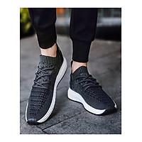 Giày thể thao nam - giày tập gym nam - giày nam cổ chun