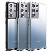Ốp lưng chống sốc hàng hiệu Ringke Fusion cho Galaxy S21 | S21 Ultra | S21 Plus - Hàng nhập khẩu
