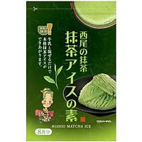 Bột làm kem trà xanh Matcha Nishio 160g