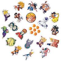 Sticker Dragon Ball Hình Dán Chủ Đề Bảy Viên Ngọc Rồng Goku Trang Trí Decal Chống Nước Chất Lượng Cao